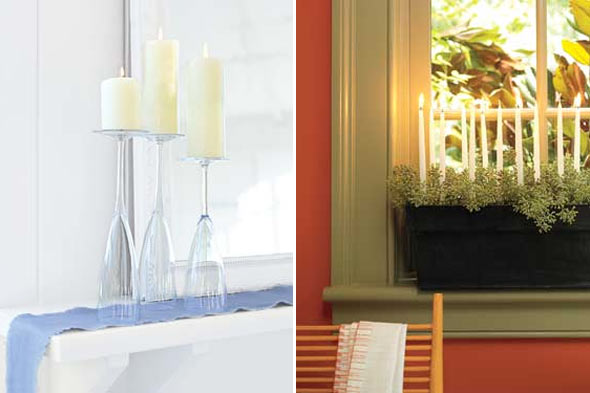 decorating with candles