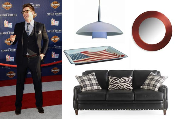 Chris Evans Captain America Style Room