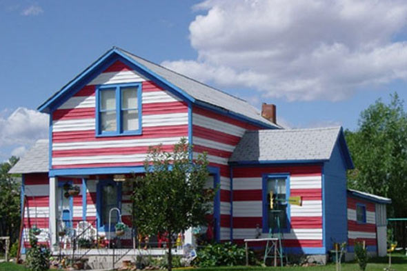 red-white-blue-house