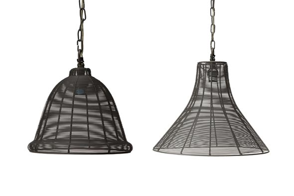Jamie Young wire pendant lamps