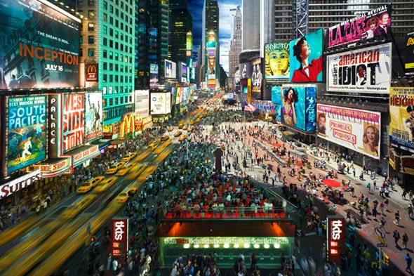 Stephen Wilkes times square