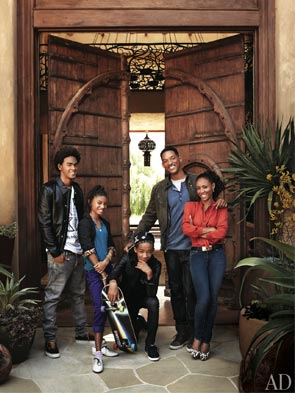 Will and Jada Smith Architectural Digest