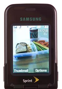 sprint myfoodphone