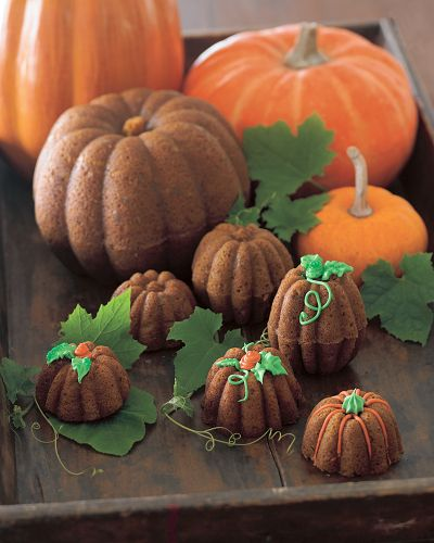 mini pumpkin pans