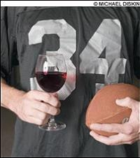 Football and wine