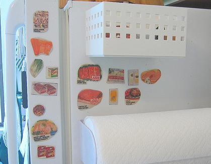 freezer inventory with magnets