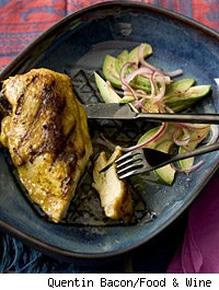 Chicken with Peruvian Marinade