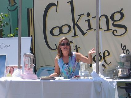 cat cora at the la times book festival
