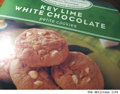 archer farms key lime white chocolate cookies