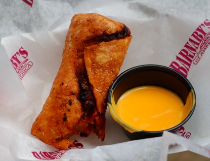 a cheesesteak eggroll from the Chester County Restaurant Fest
