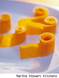 image of homemade apricot fruit rollups