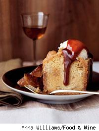 Apple Cake with Toffee
