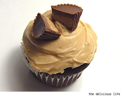 reese's cupcake