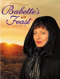 cover of DVD box for Babette's Feast