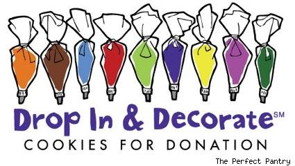 drop in and decorate cookies for donation
