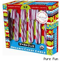 pure fun candy canes
