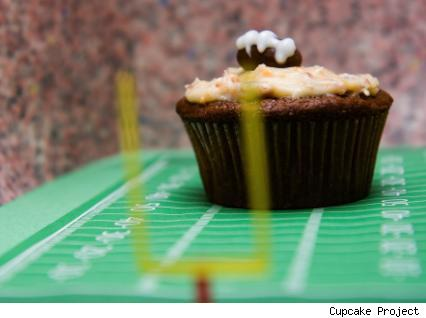 beer cheese cupcake
