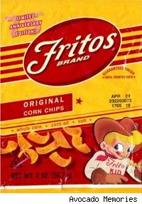 replica of a vintage fritos bag