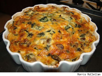 picture of the easy quiche
