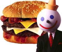 jack in the box burger and jack