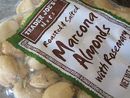 trader joe's roasted salted marcona almonds