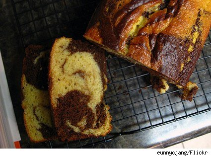 chocolate and vanilla pound cake
