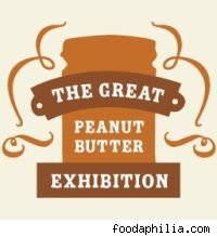 The great peanut butter exhibition logo