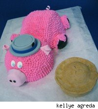 pork pie cake