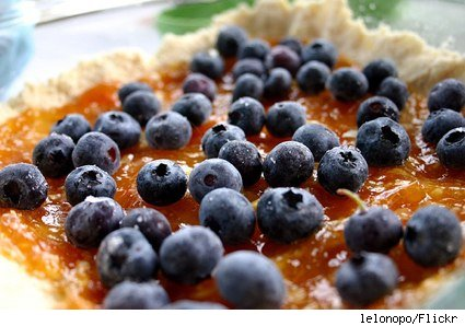 blueberry apricot crumble