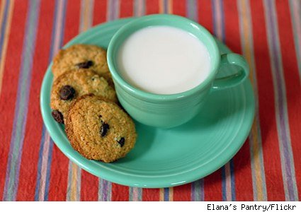 cookies and cashew milk
