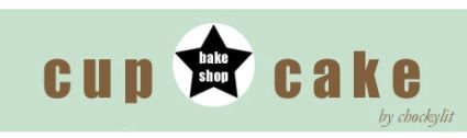 logo from the cupcake bakeshop