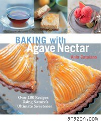 cover of baking with agave nectar