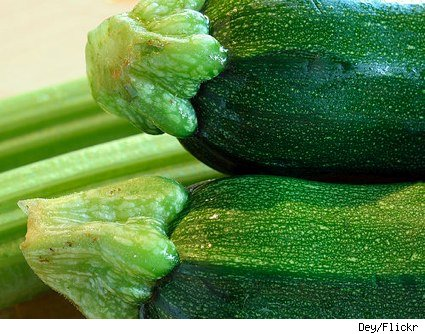 close-up zucchini picture