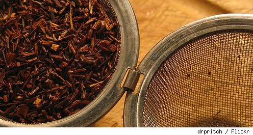 Rooibos in tea ball