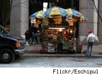 image of a street cart
