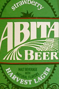 Abita Strawberry Harvest Lager label