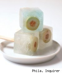frozen martini pops