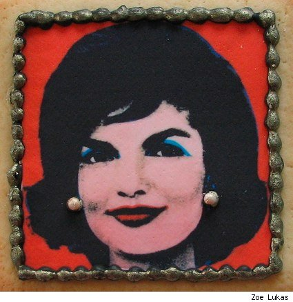 Jackie Kennedy, on a cookie