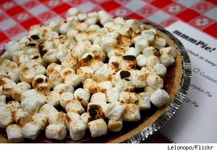 Feast Your Eyes: S'more pie