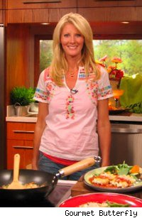Sandra lee in the Kitchen