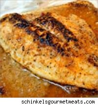 piece of blackened catfish