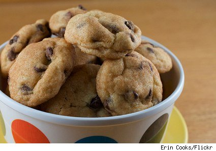 chocolate chip amish puff cookies