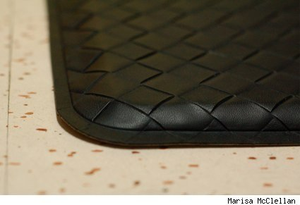 image of a gelpro mat on Marisa's kitchen floor