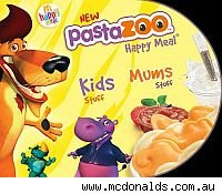 McDonald's Pasta Zoo Happy Meal