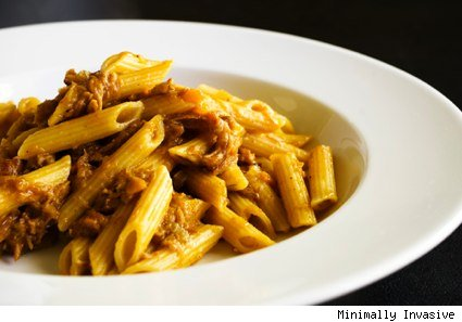 pork neck ragu from Minimally Invasive
