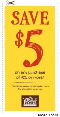 whole foods coupon