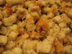 mound of stuffing
