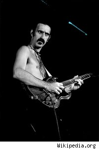 Frank Zappa at the Armadillo World Headquarters, Austin, Texas, 1977