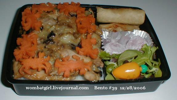 crab bento box