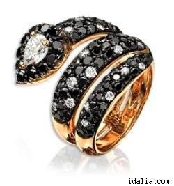 Idalia Black Diamond Ring, $3,350.00